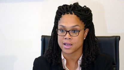 Baltimore State's Attorney Marilyn Mosby