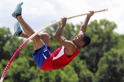 Trey Clark, a rising senior at Howard High School, traveled to Brisbane, Australia in mid July for the Down Under International Sports meet and brought home a gold medal in the pole vault.