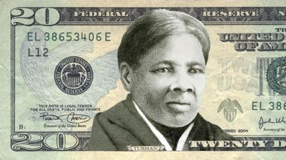 This rendering from the Women on 20's organization depicts Tubman on the $20 bill.