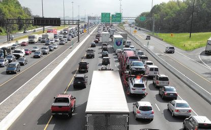Months of traffic congestion expected in Baltimore as I-95 construction begins anew