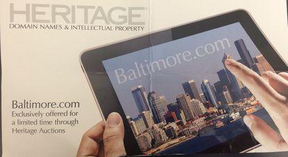 Ummmm.... that's not Baltimore.