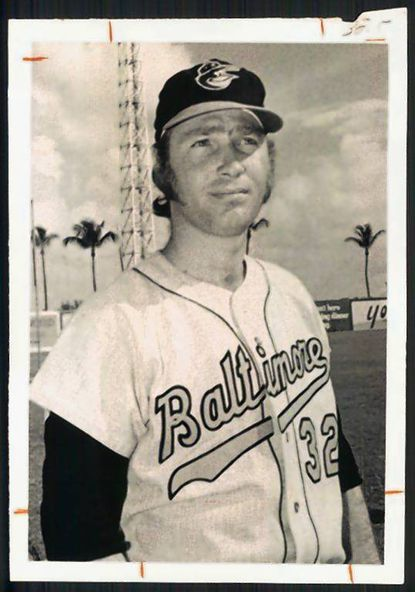 David Boswell at spring training in 1972