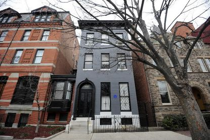 F. Scott Fitzgerald's Baltimore house up for sale