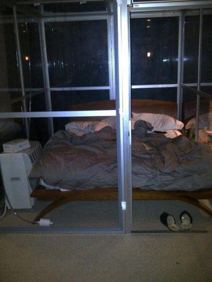Michael Phelps high-altitude sleeping chamber