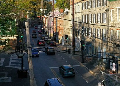 Main Street in Ellicott City.