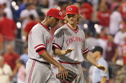 The Orioles remain in negotiations with free-agent right-hander Bronson Arroyo, right, who pitched last season with the Cincinnati Reds.