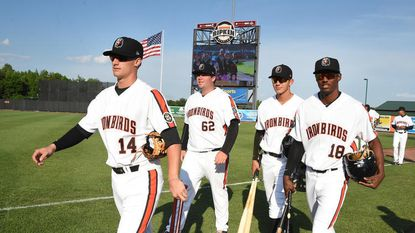 The IronBirds beat Tri-City, 7-0, Thursday night to sneak closer to Hudson Valley in the playoff race.