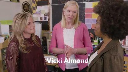 Vicki Almond ad for Baltimore County executive.
