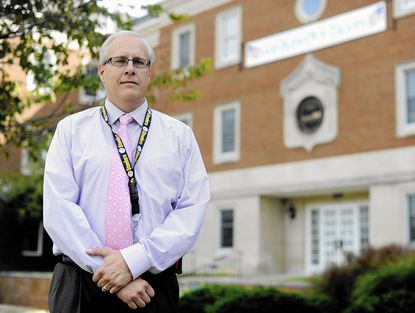 Jeff Castonguay, chief of the Bureau of Utilities for Carroll County, is a cancer survivor who was diagnosed with the same type of cancer as Gov. Larry Hogan in 2002. He was declared cancer free in 2003.