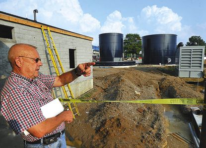 Jack Coe, pictured in 2010, worked as a water and sewer consultant for New Windsor for 60 years. He died on Dec. 26.