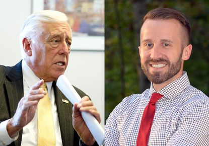 U.S. Rep. Steny Hoyer is seeking a 21st term representing Maryland's 5th District in Congress and faces Chris Palombi, a 36-year-old Republican running in his first campaign.