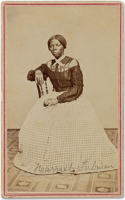 A photograph of 19th century abolitionist Harriet Tubman is up for auction at Swan Auction Galleries.
