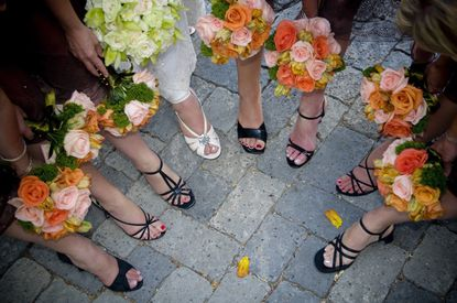 A pedicure party is a good way to make all bridesmaids feel included.