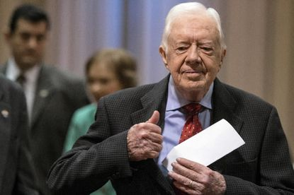 Jimmy Carter says his cancer spread to his brain.