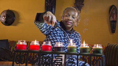 Gerry Maxwell-Jones has been celebrating Kwanzaa with her family since 1977.