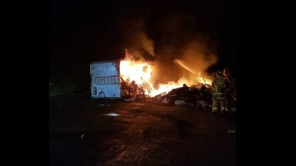 Fire Marshal's Office investigating trailer fire