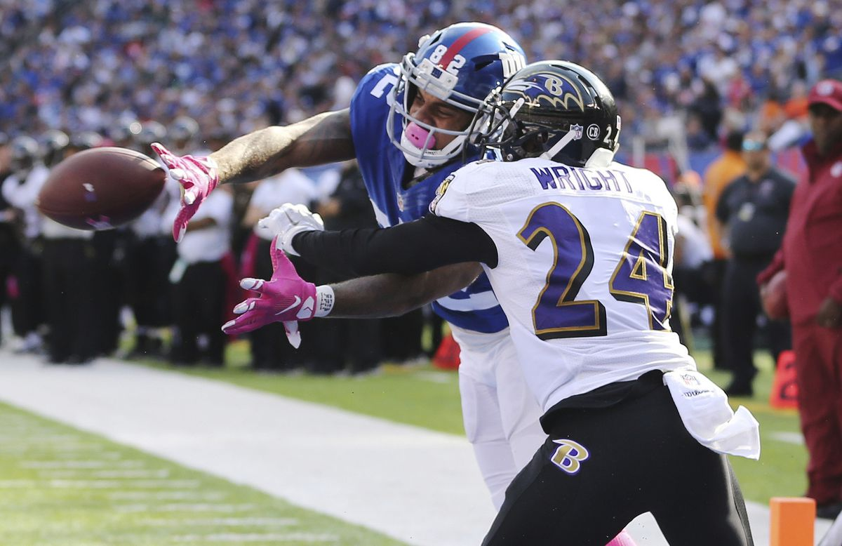 Former Raven CB Shareece Wright signs with the Buffalo Bills ...