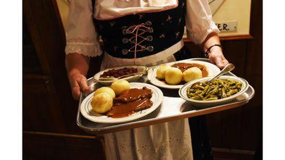 A taste of Zion Church's Sour Beef dinner
