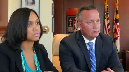 Baltimore State's Attorney Marilyn Mosby and Police Commissioner Kevin Davis were two of the 10 highest-paid city employees during the last fiscal year. The list was dominated by police officers, with their salaries boosted significantly by overtime.