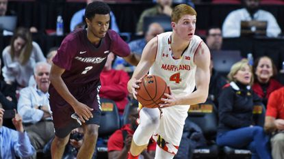 Never in a rush, Terps' Kevin Huerter grows game at an old-school pace