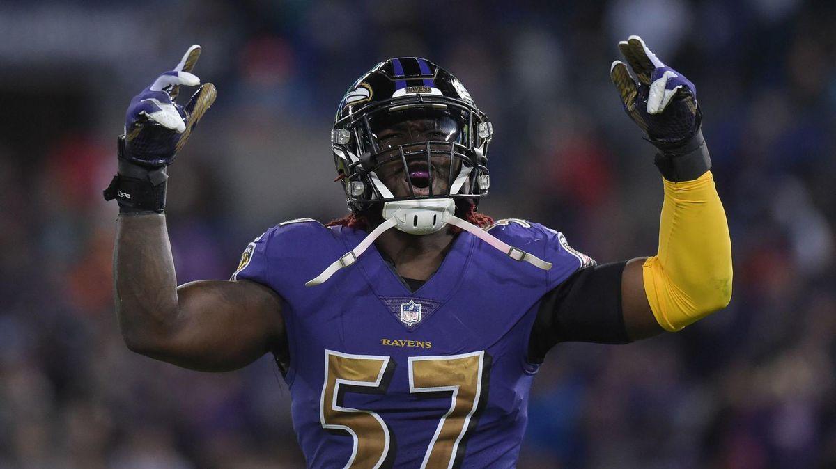 Half-man, half-amazing' C.J. Mosley is living up to Ravens ...