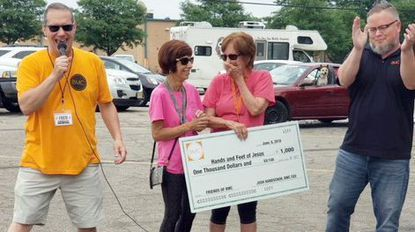 Glen Burnie ministry receives $1K from BeMoreCaring