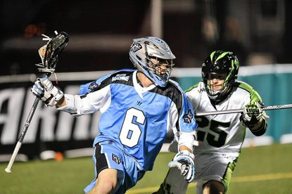 The Ohio Machine's Steele Stanwick, a Roland Park resident, is one of the stars of the Major Lacrosse League. He leads the team in scoring with 28 points in 12 games.