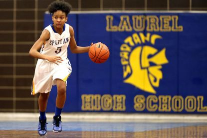 Laurel High's Taychaun Hubbard scored 18 points in the Spartans' season-ending 68-41 loss to Parkdale in the sectional semifinals.