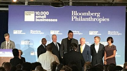 Small businesses graduate from training program funded by Bloomberg and Goldman Sachs