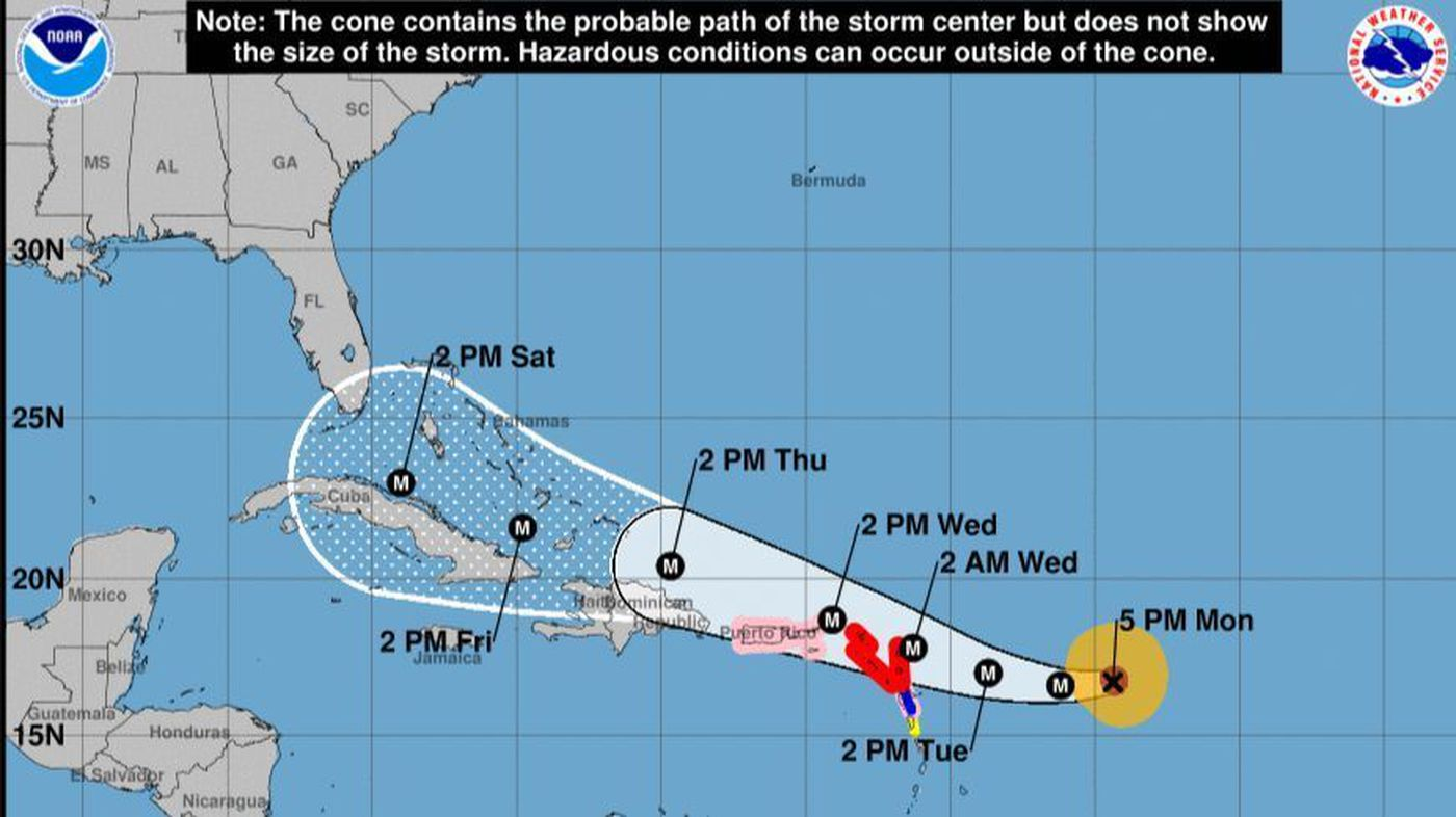 Hurricane Irma Strengthens To Cat 4 Florida Now In