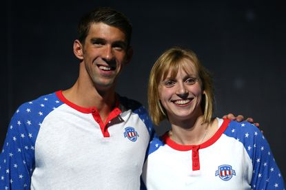 Michael Phelps and Katie Ledecky, both of Maryland, have given Marylanders an abundance of golden moments at the Olympics.
