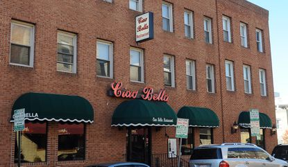 The exterior of Ciao Bella in Little Italy.