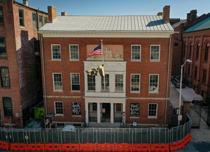 The Peale Center on Holliday Street, which occupies the first building in the United States to be designed and built specifically as a museum, is undergoing a $2.5 million renovation.