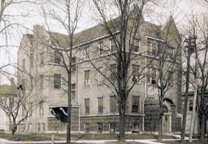 The Jane McAlister Hospital at the end of Franklin Street on North Avenue in Waukegan opened in 1904 and eventually housed a dormitory, where students said a ghostly nurse and a janitor roamed the hallways.