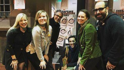 "Some of the folks behind ""Mortified Baltimore."" From left: Alexandra Hewett, Jennifer Clarke, Dave Nadelberg, Adam Ruben, Caryn Sykes and Neil Katcher."