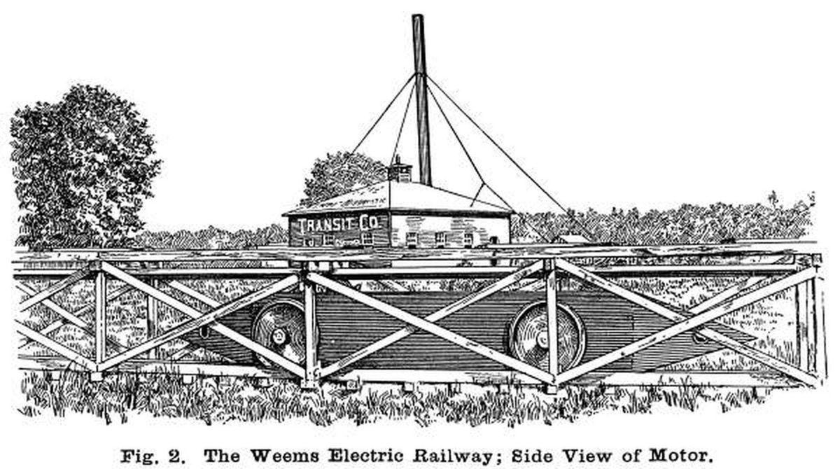 The dream of electric trains has origins in Laurel