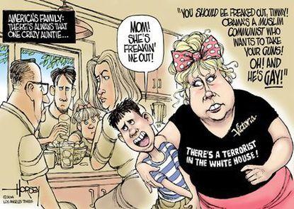 America's crazy aunt