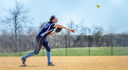 Howard's Berit Batterton, seen in this file photo, delivered a home run and 2 RBI on Saturday to help the Lions defeat Atholton.