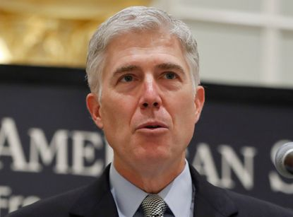 Conservatie Justice Neil Gorsuch joined four liberal justices as the Supreme Court struck down part of an immigration law that they argued was too vague.