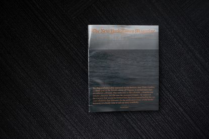 A copy of The New York Times Magazine's The 1619 Project is photographed on Monday, Aug. 19, 2019, in Chicago.