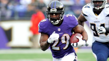 Ravens running back Justin Forsett is active Sunday against the Dolphins.