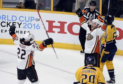 Ducks are happy after equaling series with 4-1 win over Predators