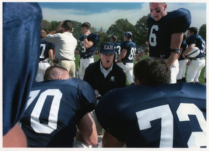 Tom Gilburg coached football at Franklin & Marshall for 28 years.