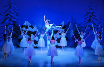"A scene from the Ballet Theatre of Maryland's production of ""The Nutcracker."""