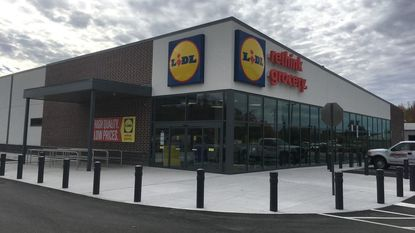 """A Harford County official says there's """"potential"""" for a new Lidl grocery store in Bel Air. The German-based grocer is nearing completion on a new store in Aberdeen."""