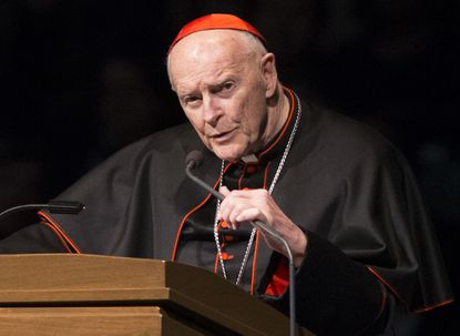 Pope accepts resignation of D.C.-area Cardinal Theodore McCarrick after sex abuse claims