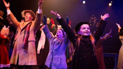 """""""Miracle on 34th Street: The Musical"""" continues through Jan. 7 at Toby's Dinner Theatre of Columbia."""