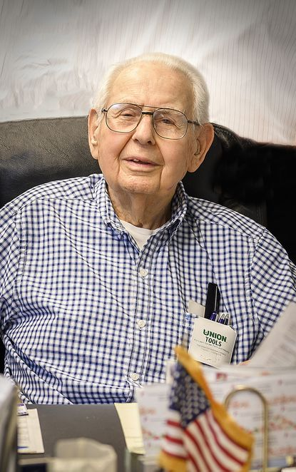 H. Webster Hurst Jr., a World War II veteran, was owner and president of the Meyer Seed Co.