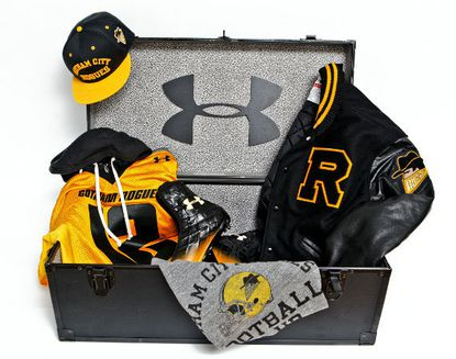 Under Armour outfits Gotham Rogues of 'Dark Knight Rises'