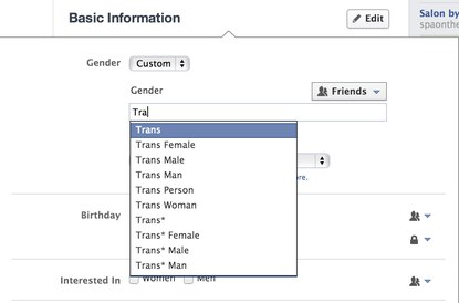 Looking Out: Facebook adds inclusive gender options to profiles